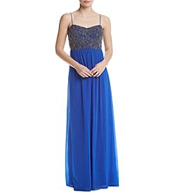 Adrianna Papell® Beaded Top Dress