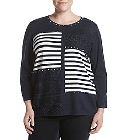 Alfred Dunner® Plus Size Uptown Girl Sweater