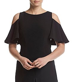 Eliza J® Cold-Shoulder Top