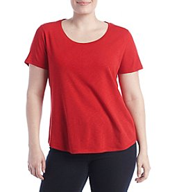 Ruff Hewn Plus Size Solid Shirttail Tee
