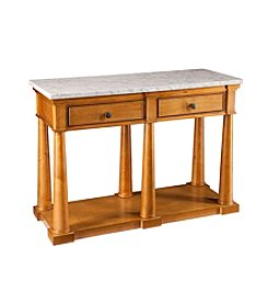 Southern Enterprises Grandview Faux Marble Console Table