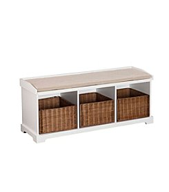 Southern Enterprises Loring Entryway Storage Bench