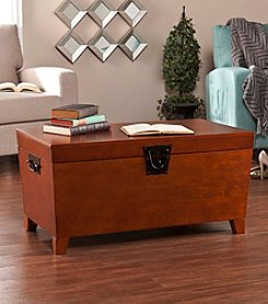 Southern Enterprises Nailhead Trunk Cocktail Table