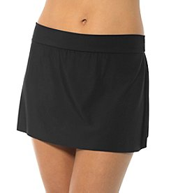 Magicsuit® Solid Swim Skirted Bottoms