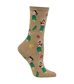 Hot Sox® Hula Girls Socks