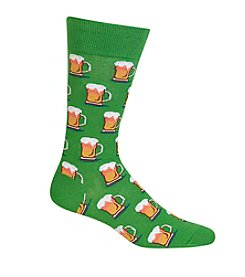 Hot Sox® Men's Beer Crew Socks