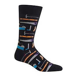 Hot Sox® Men's Tools Crew Socks