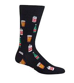 Hot Sox® Men's Beer Crewsocks