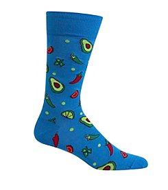 Hot Sox® Men's Avocado & Chili Crewsocks