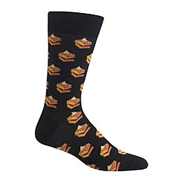 Hot Sox® Men's Waffles Crew Socks