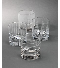 Mikasa® Cheers Barware Set of 4 Double Old Fashioned Glasses
