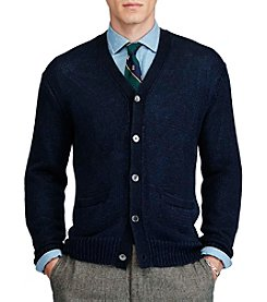 Polo Ralph Lauren® Men's Linen Long Sleeve Cardigan