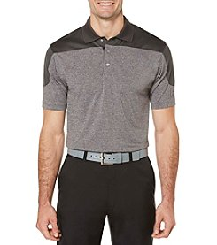 PGA TOUR® Men's Blocked Heather Polo