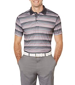 PGA TOUR® Men's Stacked Heather Stripe Print Polo