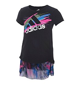 adidas® Baby Girls' 2-Piece Play More Printed Skort Set