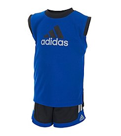 adidas® Baby Boys' Basketball Shorts Set
