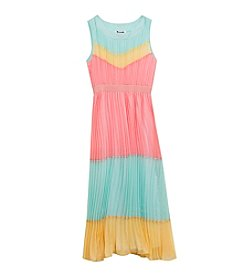 Rare Editions® Girls' 7-16 Crystal Maxi Dress