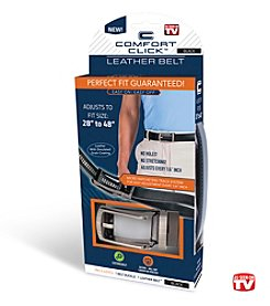As Seen on TV Comfort Click™ Leather Belt