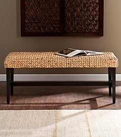 Southern Enterprises Water Hyacinth Bench