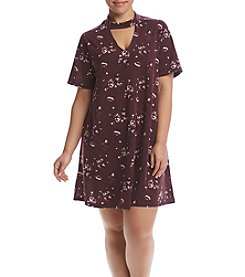 Hippie Laundry Plus Size Floral Swing Dress