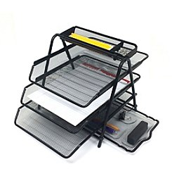 Mind Reader 'Census' 3-Tier File Tray