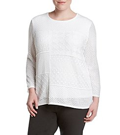 Alfred Dunner® Plus Size City Life Sweater
