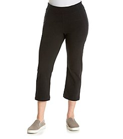 Calvin Klein Performance Plus Size High Waist Capri