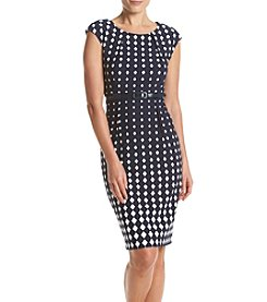 Connected® Dot Sheath Dress