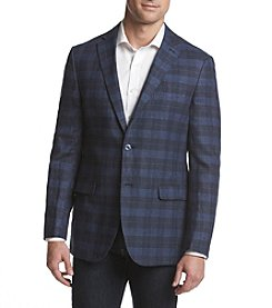 Calvin Klein Men's Check X Fit Slim Sport Coat