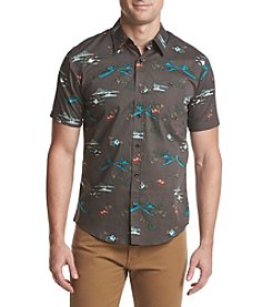 Ocean Current® Men's Yelapa Printed Poplin Short Sleeve Button Down Shirt