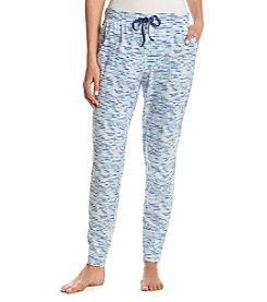 Relativity® Stripe Knit Sleep Jogger Pants