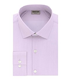 Kenneth Cole REACTION Technicole® Men's Stretch Collar with Tek Fit Slim Fit Dress Shirt