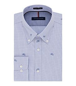 Tommy Hilfiger® Men's Long Sleeve Slim Fit Non-Iron Dress Shirt