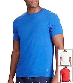 Polo Ralph Lauren® Men's Polo 3-Pack Cotton Crewneck Tee