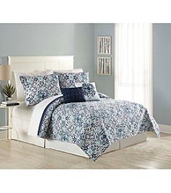 MaryJane's Home Vintage Medallion 5-pc. Quilt Set