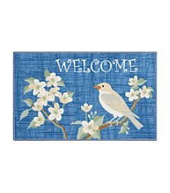 Nourison Essential Elements Welcome Bird Accent Rug
