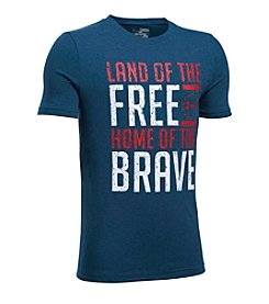 Under Armour® Boys' 8-20 Land Of The Free Short Sleeve Tee