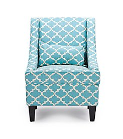 Baxton Studios Lotus Contemporary Fabric Armchair