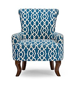 Baxton Studios Dixie Contemporary Fabric Armchair