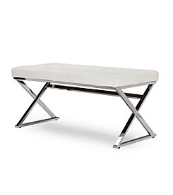 Baxton Studios Herald Rectangle Bench