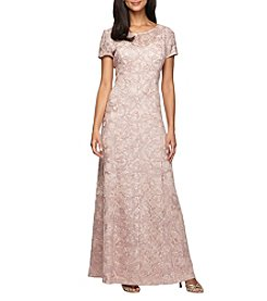 Alex Evenings® Long A-Line Dress