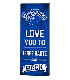 Kindred Hearts NCAA® Indiana State Sycamores Love You Pallet