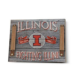 Kindred Hearts NCAA® Illinois Fighting Illini Vintage Tray