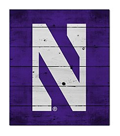 Kindred Hearts NCAA® Northwestern Wildcats Logo Pallet Wall Art
