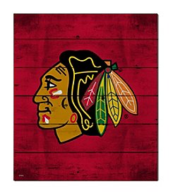 Kindred Hearts NHL® Chicago Blackhawks Logo Pallet Wall Art