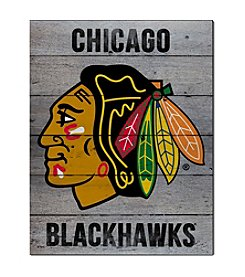 Kindred Hearts NHL® Chicago Blackhawks Road To Victory Pallet Wall Art