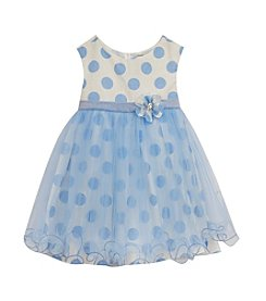 Rare Editions® Girls' 2T-6X Polka-Dot Woven Dress