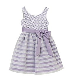 Rare Editions® Girls' 4-6X Lace Bodice Dress