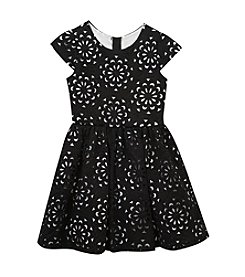 Rare Editions® Girls' 7-16 Textured Dress