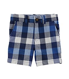 Carter's Boys' 4T-4 Plaid Shorts